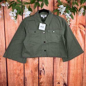 NEW Jack BB Dakota Raw Hem Cropped Jacket NWT